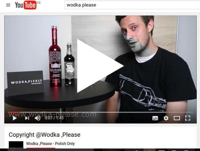 Wodka ,Please präsentiert MAD DOG - Polnischer Wodka