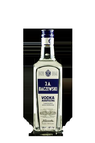 J.A. Baczewski Vodka Monopolowa