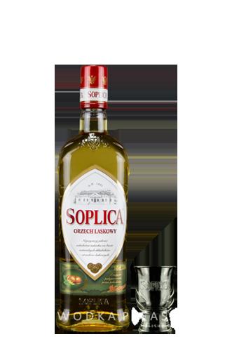 Soplica Haselnuss + Shot Glas