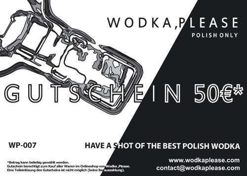Wodka ,Please Gutschein
