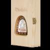 Original Aged Miodula Eichenfass-Honigwodka in Holzbox mit Sichtfenster - 2