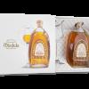 Original Aged Miodula Eichenfass-Honigwodka in modernem, weißen Design