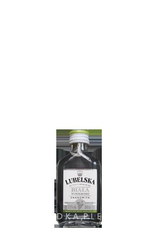 Lubelska Weintraubenwodka in der Probiergröße