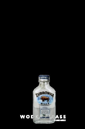 Żubrówka Weiß Wacholder in der Probiergröße