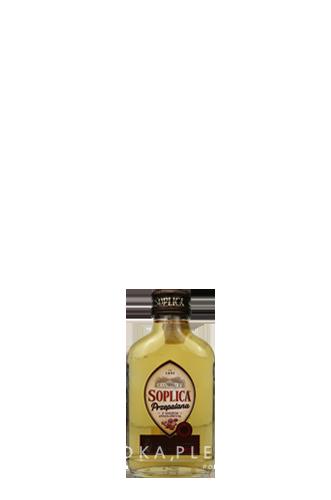 Soplica Przepalana mit getrockneten Früchten in der Probiergröße