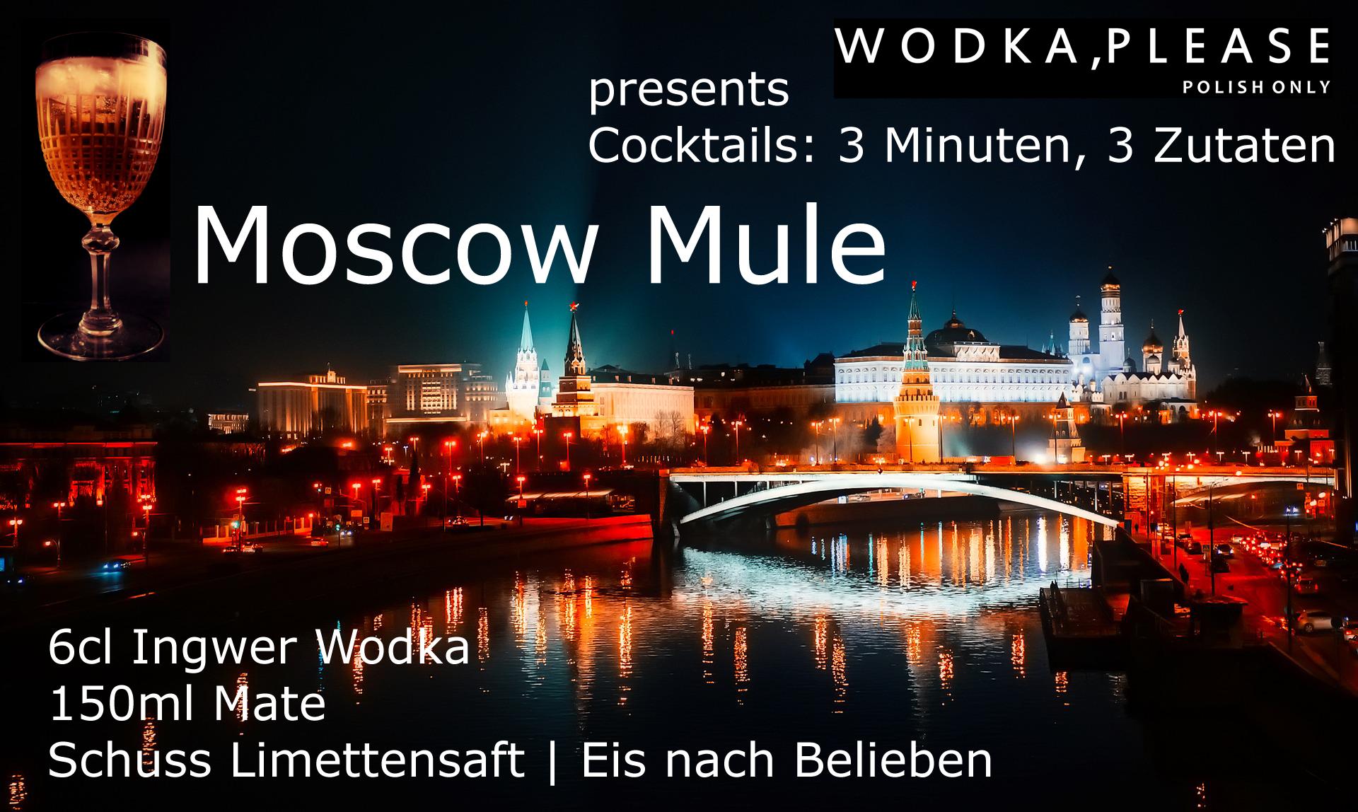 Moscow Mule - Drink - Polnischer Wodka