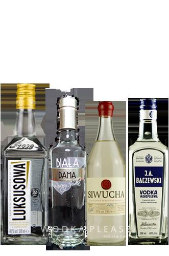 Wodka-Klassiker der Swinging 20ies - Polnischer Wodka