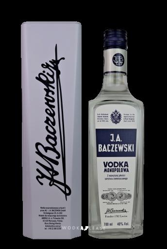 J.A. Baczewski Vodka Monopolowa in Blech-Geschenkbox
